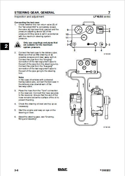 DAF LF45 Workshop Service Repair Manual Download Daf Lf Wiring Diagram on