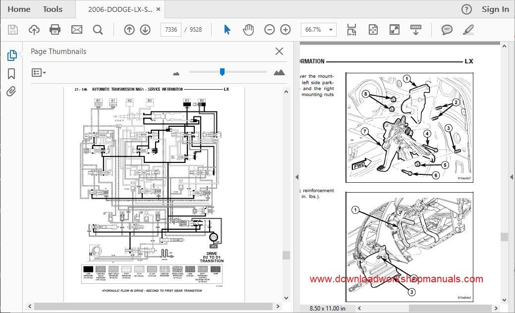 Dodge Magnum Workshop Manual and Wiring Diagrams