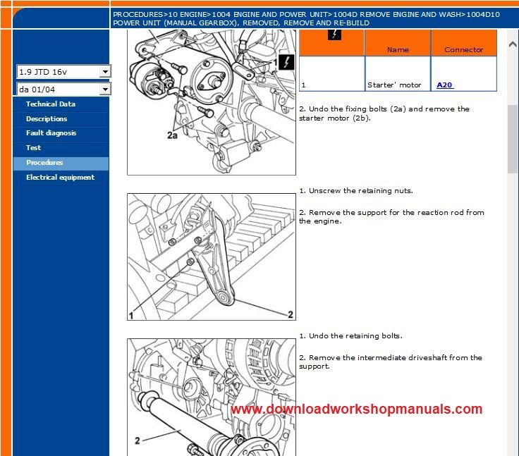 Fiat Stilo Workshop Repair Manual