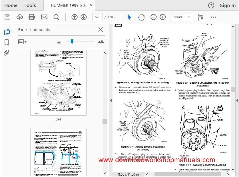 Commercial Hummer Workshop Repair Manual Download