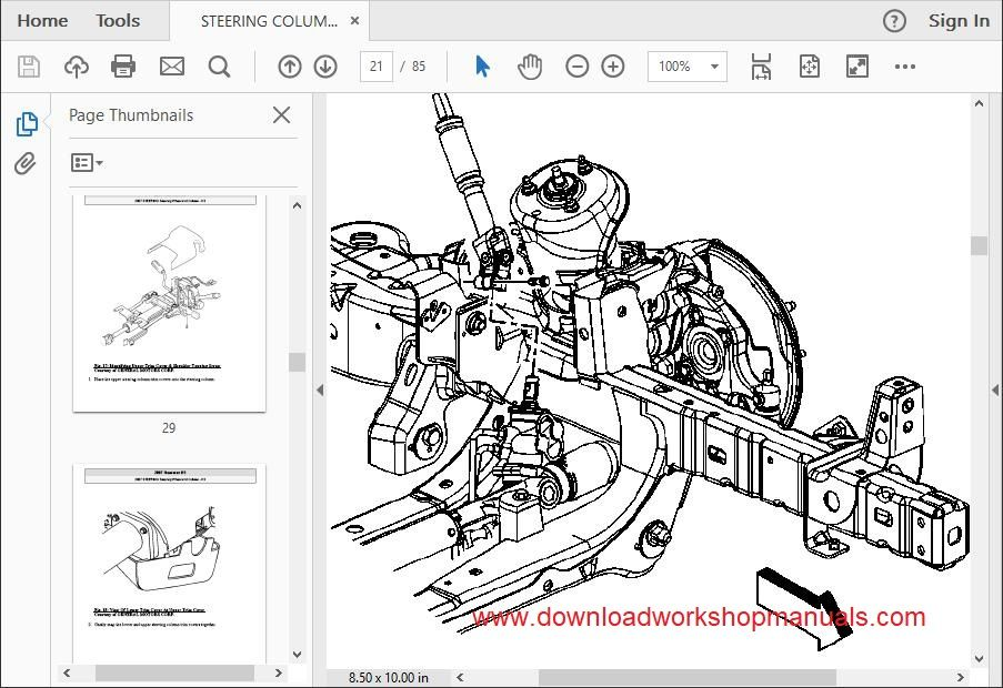 hummer h3 workshop repair manual download