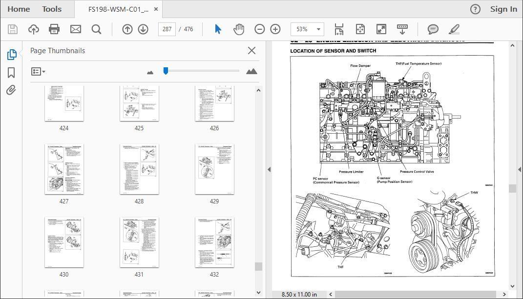 Isuzu F Series Workshop Repair Manual Download