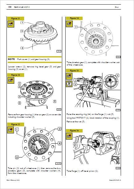Iveco Euro 3 Workshop Manual Differential