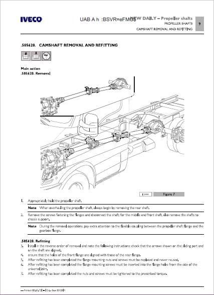 Iveco Daily Euro 6 Service Manual