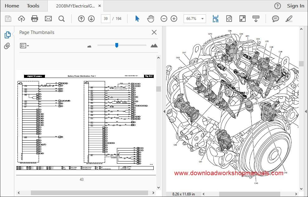 jaguar x350 workshop manual download
