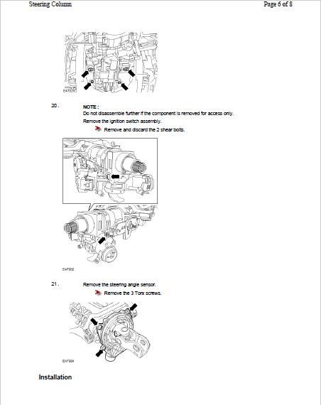 MANUALE OFFICINA LAND ROVER DISCOVERY 3 2005-2009 WORKSHOP MANUAL SERVICE
