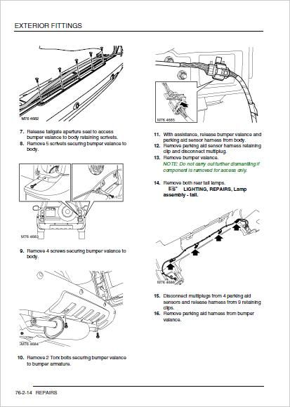 land rover freelander 1 service repair workshop manual download