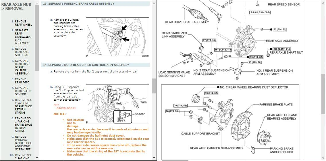 Lexus IS220 Workshop Repair Manual