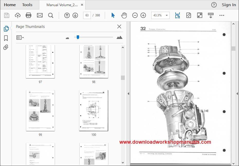 porsche 928 workshop service repair manual