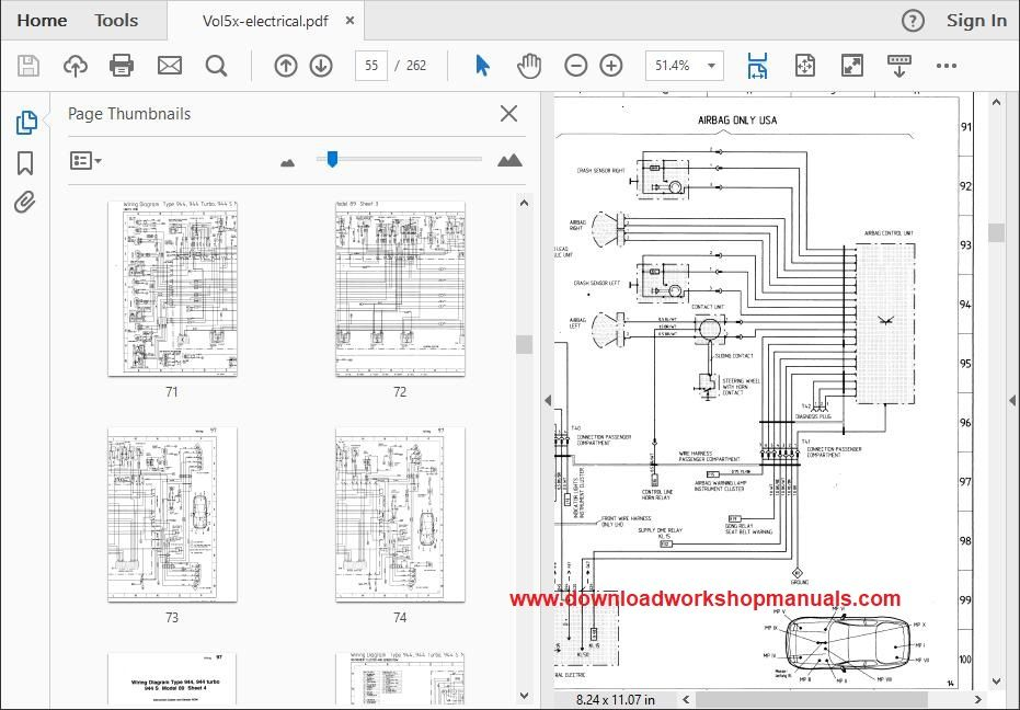Diagram Porsche 944 Workshop Wiring Diagram Full Version Hd Quality Wiring Diagram Marketwiring Corrierte It