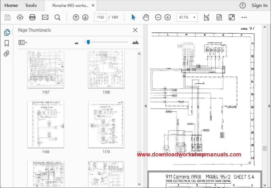 Porsche 993 Workshop Service Repair Manual Download
