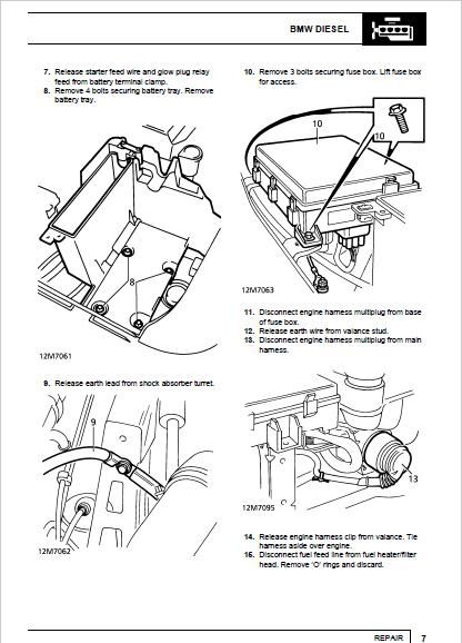 Range Rover P38 Workshop Repair Manual