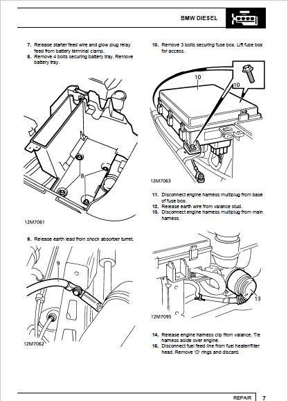 Range Rover P38 Relay Diagram - Wiring Diagram
