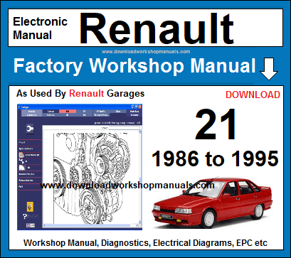 Renaul 21 service repair workshop manual