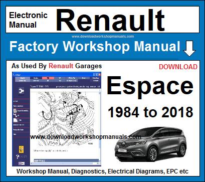 Renault Workshop Repair Manuals