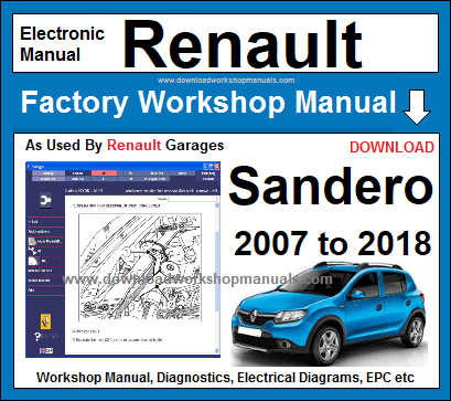 renault sandero workshop service repair manual