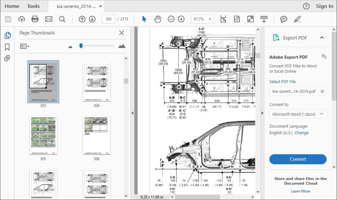 Kia sorento workshop manual
