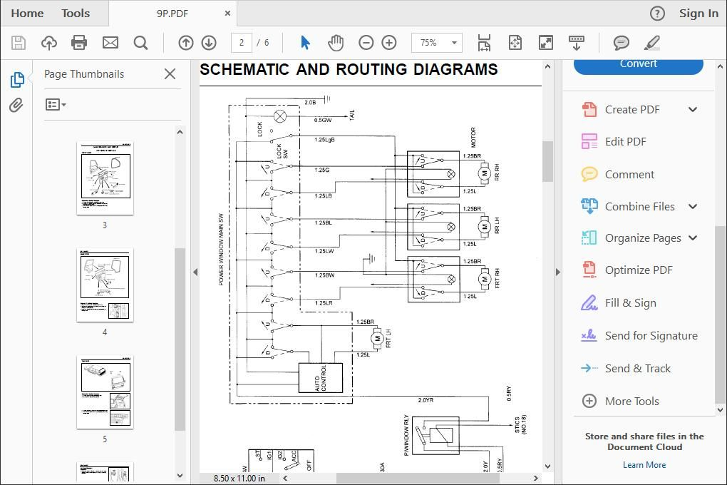 Ssangyong Musso Wiring Diagrams