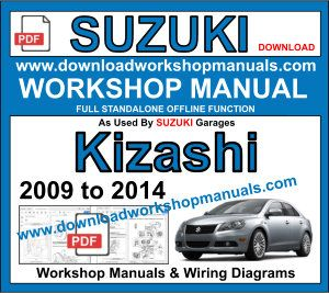Suzuki kizashi Service Repair Workshop Manual