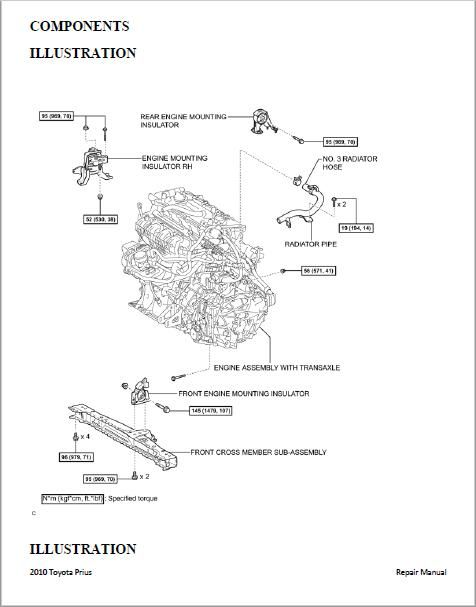 toyota prius 2009 to 2015 workshop repair manual